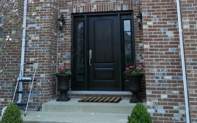 Entry Door Installations Naperville Illinois.