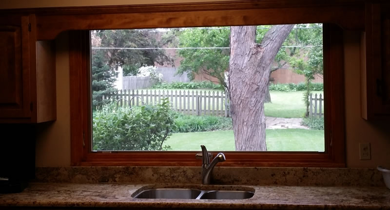 Wood Replacement Windows Naperville, Illinois.